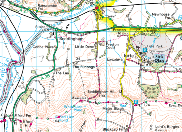Map-Glynde-MondayEnd