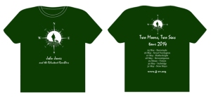 2014 walking tour t-shirt